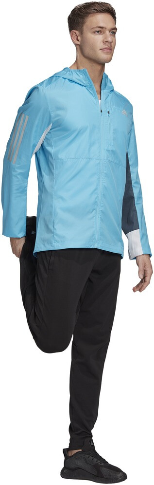 adidas OWN The Run Veste Homme, signal cyanwhitelegacy